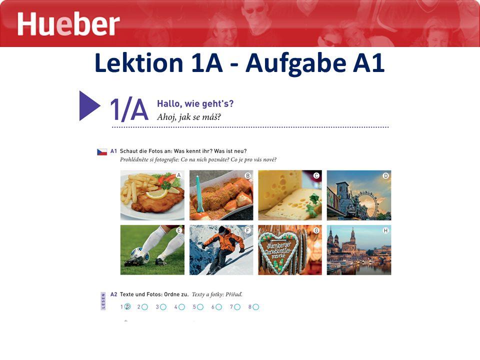 Lektion 1A - Aufgabe A1