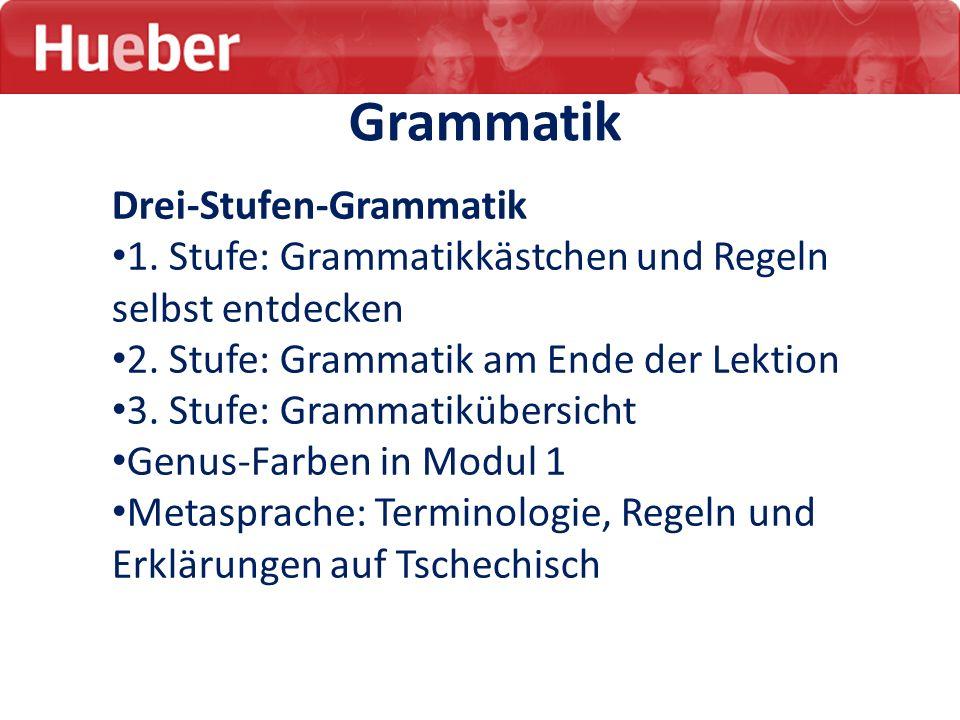 Grammatik Drei-Stufen-Grammatik