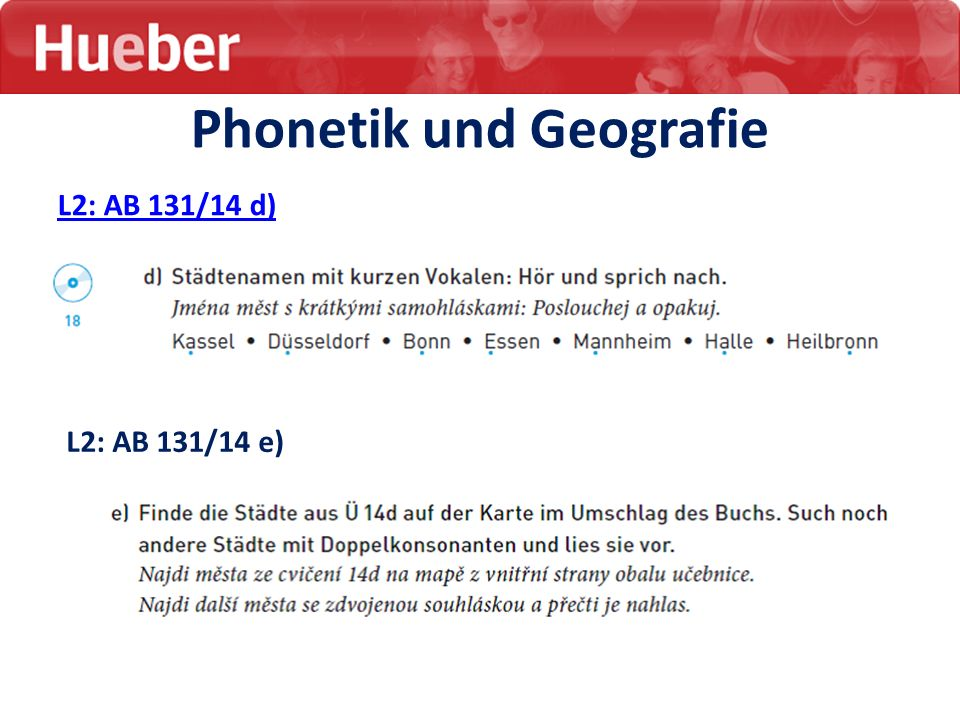 Phonetik und Geografie