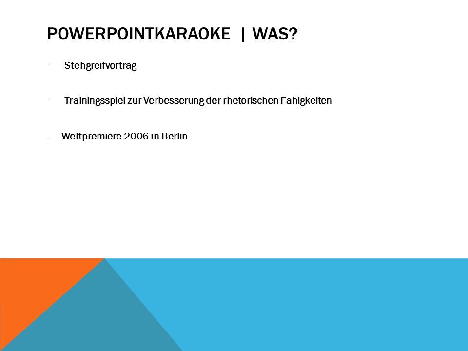 Powerpointkaraoke | Was