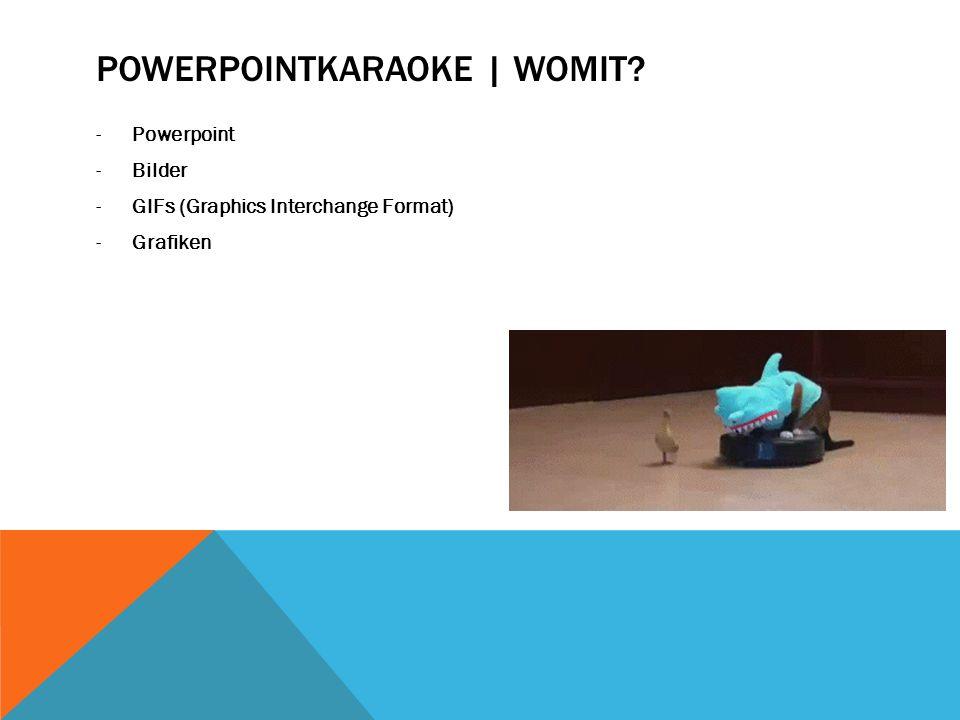 Powerpointkaraoke | Womit