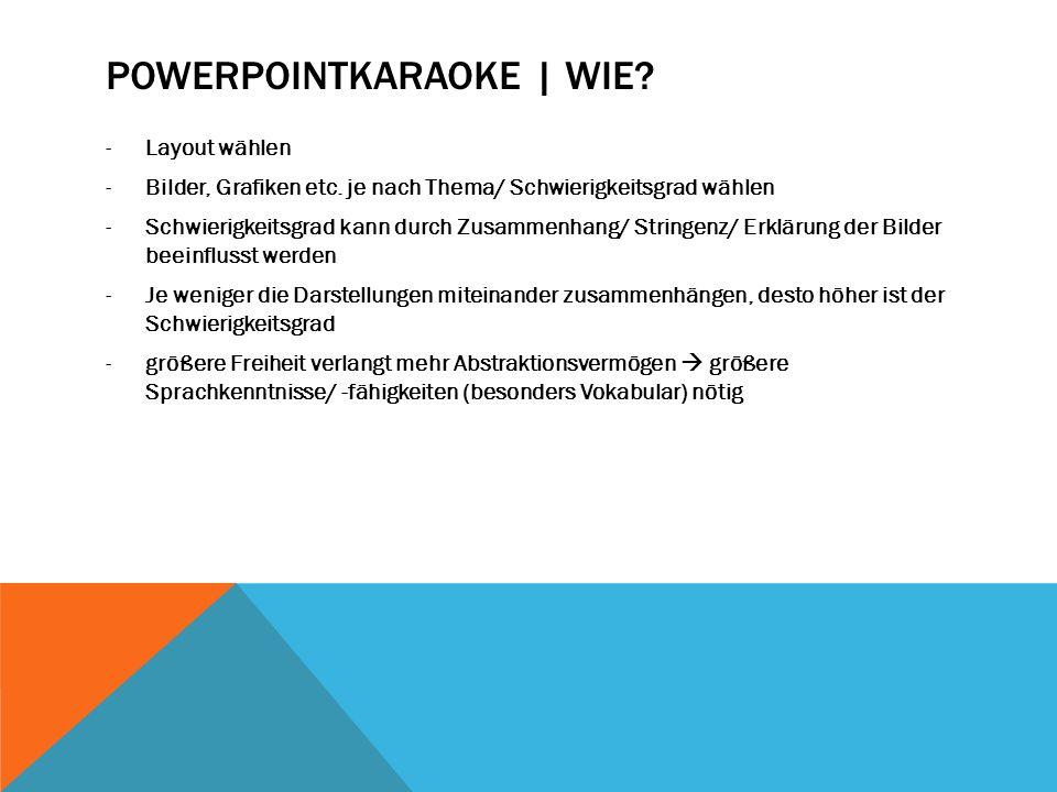 Powerpointkaraoke | Wie
