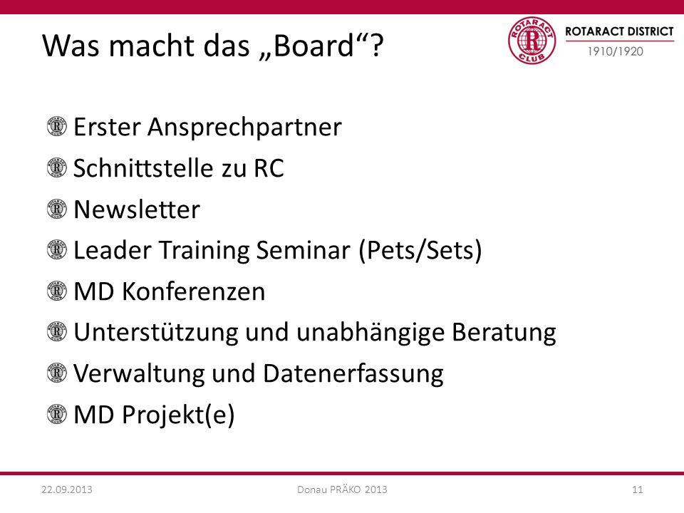 """Was macht das """"Board Erster Ansprechpartner Schnittstelle zu RC"""