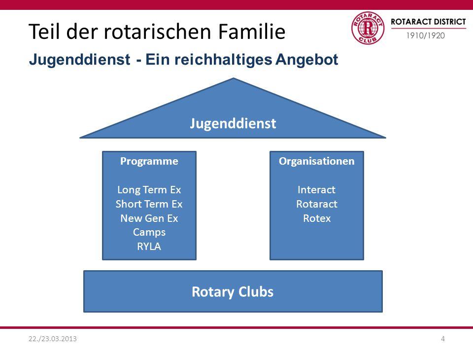 Teil der rotarischen Familie