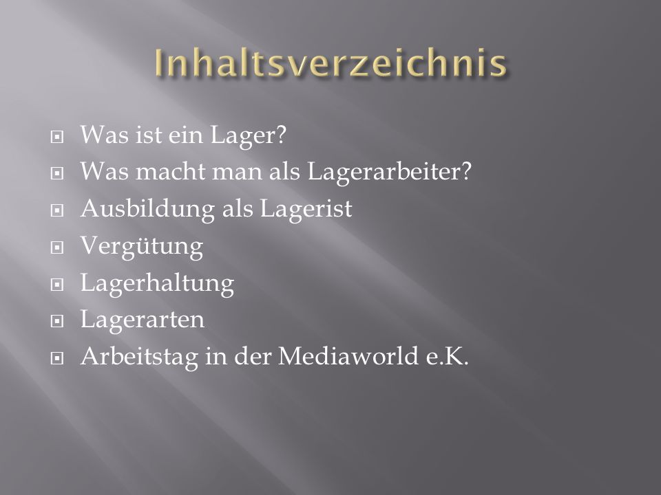 Lager ppt video online herunterladen for Was macht man als innenarchitekt