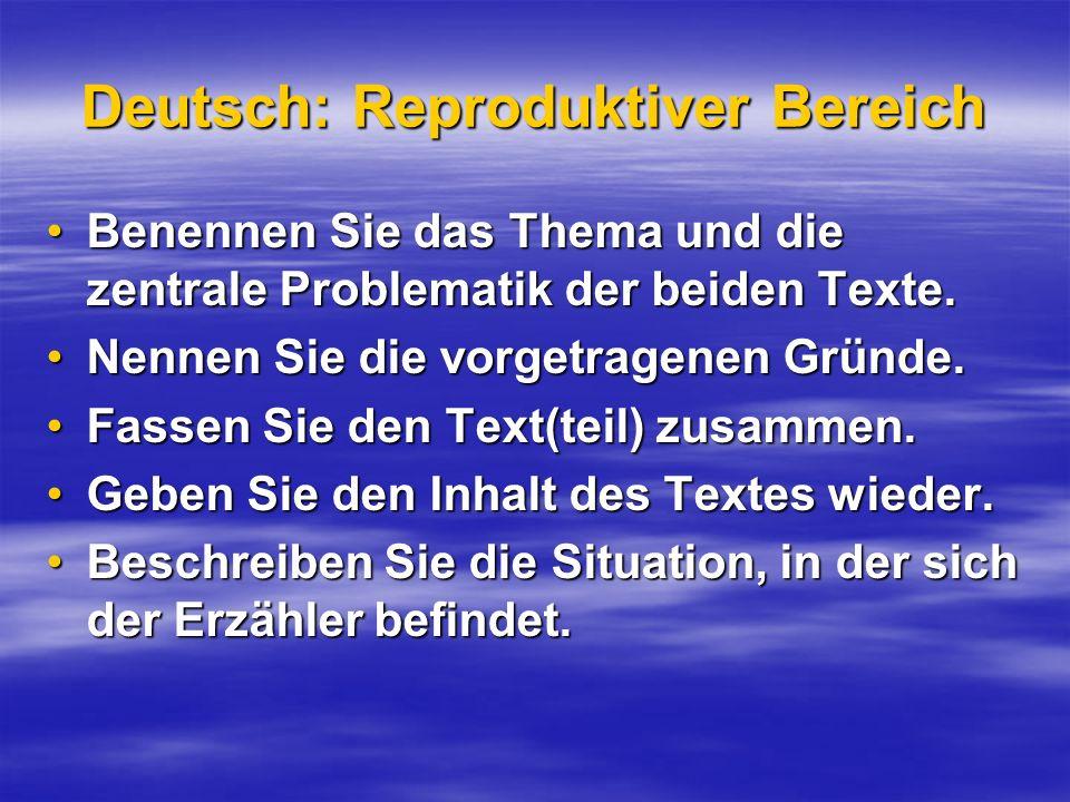 Deutsch: Reproduktiver Bereich