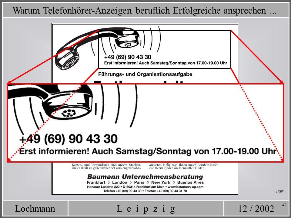 Warum Telefonhörer-Anzeigen beruflich Erfolgreiche ansprechen ...