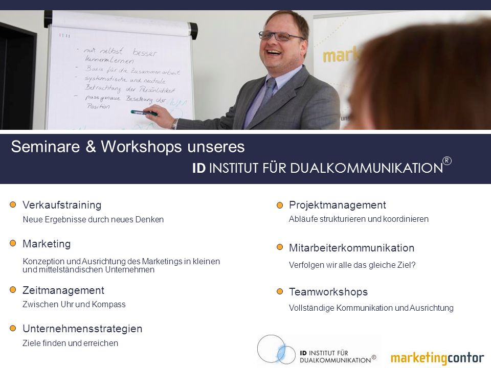 Seminare & Workshops unseres