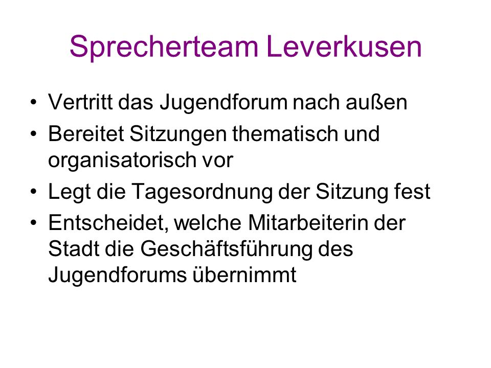 Sprecherteam Leverkusen