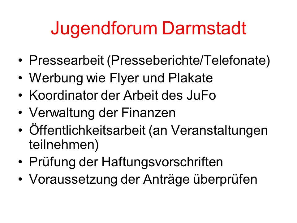 Jugendforum Darmstadt