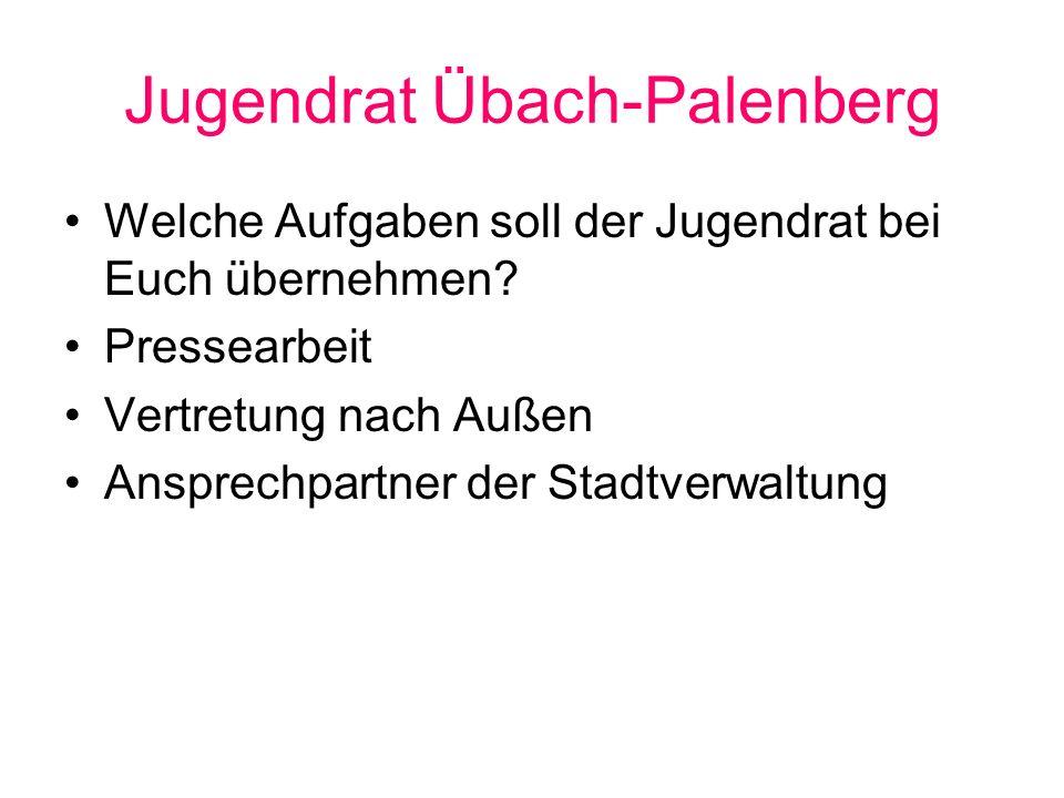 Jugendrat Übach-Palenberg