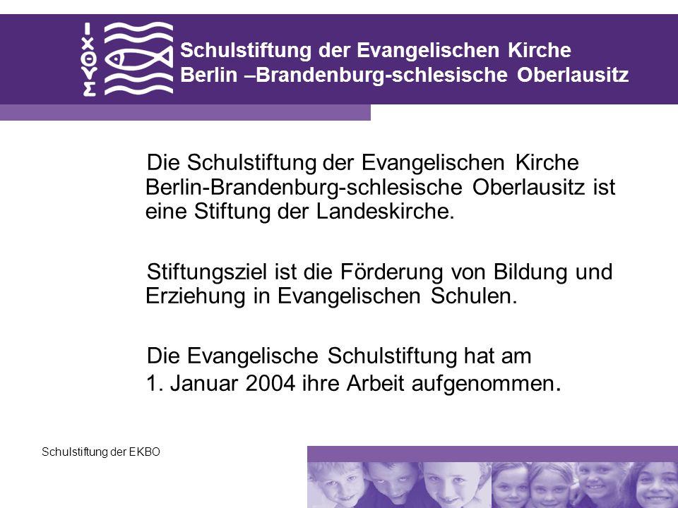 Schulstiftung der Evangelischen Kirche Berlin –Brandenburg-schlesische Oberlausitz