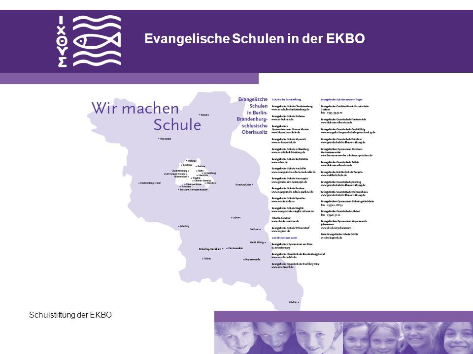 Evangelische Schulen in der EKBO