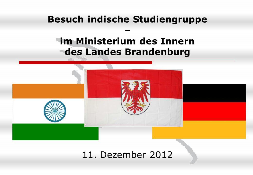 Ministerium des Innern des Landes Brandenburg