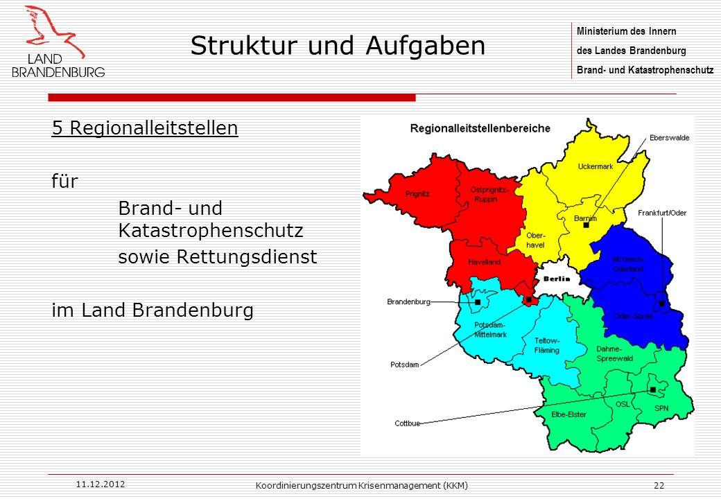 Koordinierungszentrum Krisenmanagement (KKM)