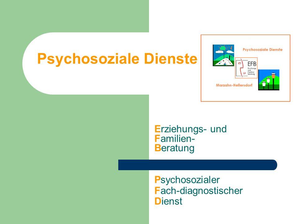 Psychosoziale Dienste