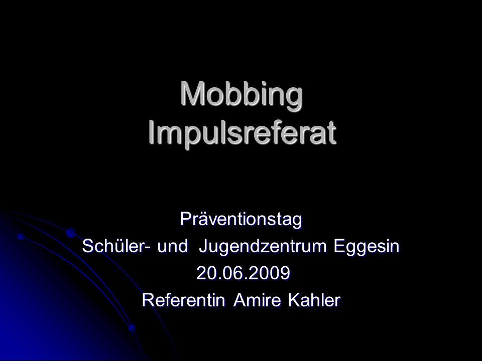 Mobbing Impulsreferat