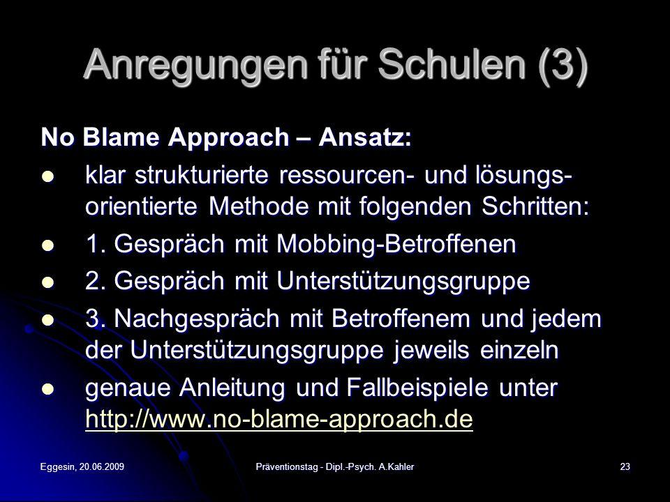 Anregungen für Schulen (3)