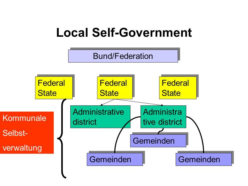 Local Self-Government