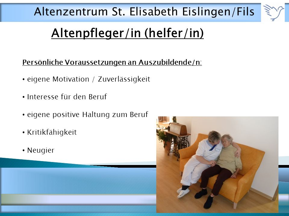 Altenpfleger/in (helfer/in)