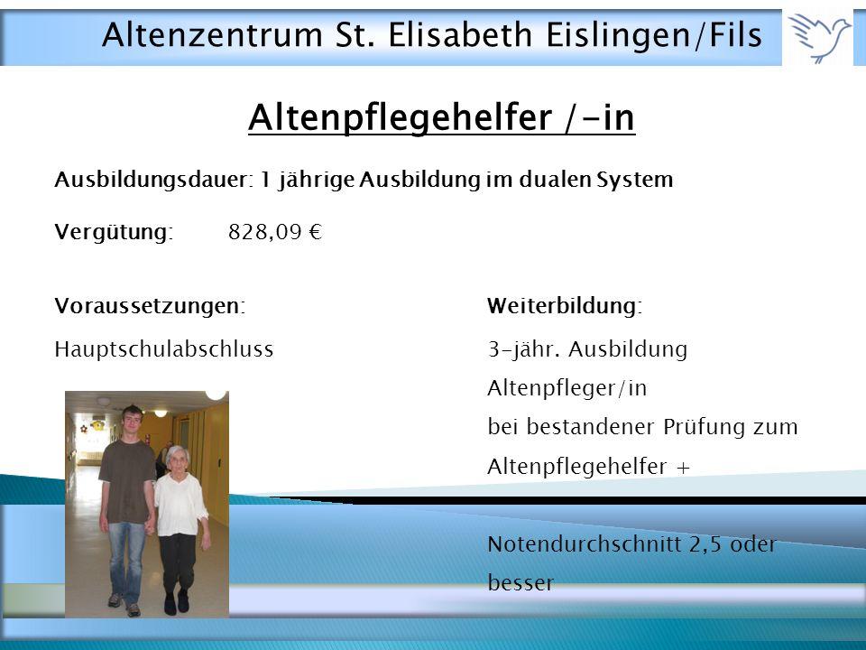 Altenpflegehelfer /-in