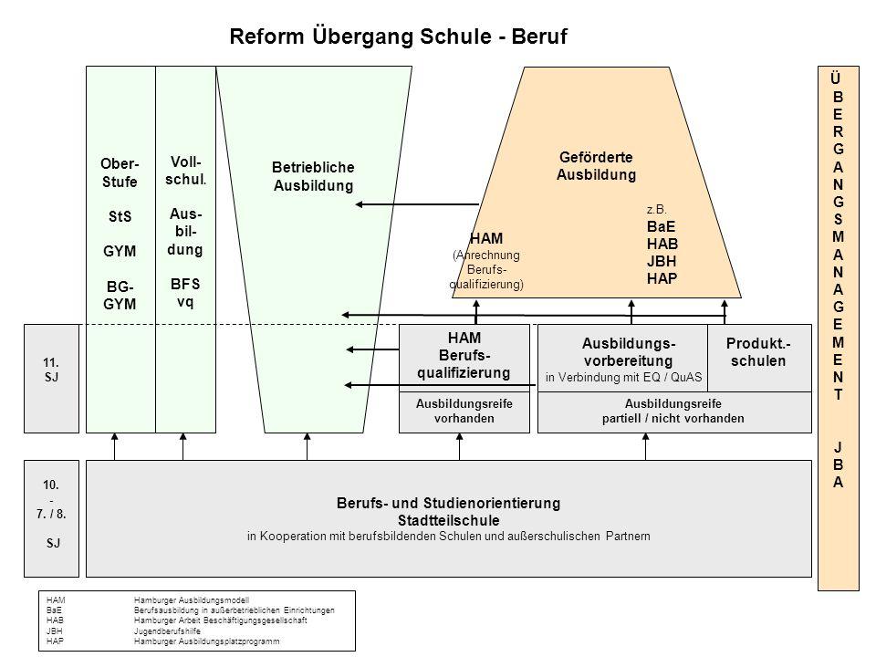Reform Übergang Schule - Beruf