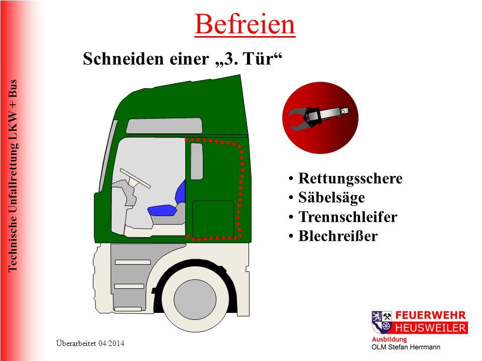 """Befreien Schneiden einer """"3. Tür Rettungsschere Säbelsäge"""