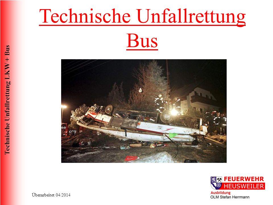 Technische Unfallrettung Bus