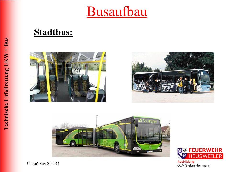Busaufbau Stadtbus: