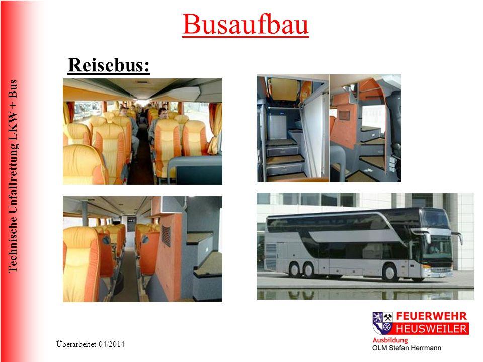 Busaufbau Reisebus: