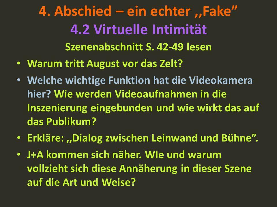 4. Abschied – ein echter ,,Fake 4.2 Virtuelle Intimität
