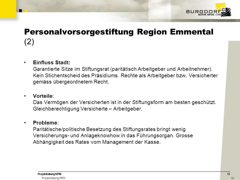 Personalvorsorgestiftung Region Emmental (2)