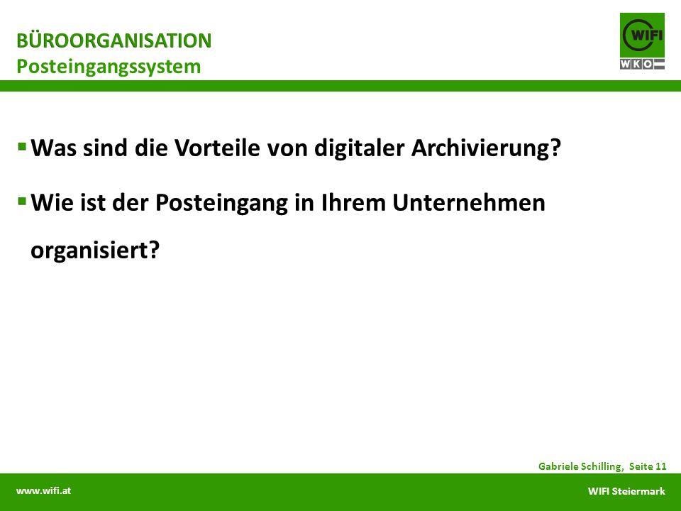 Was sind die Vorteile von digitaler Archivierung
