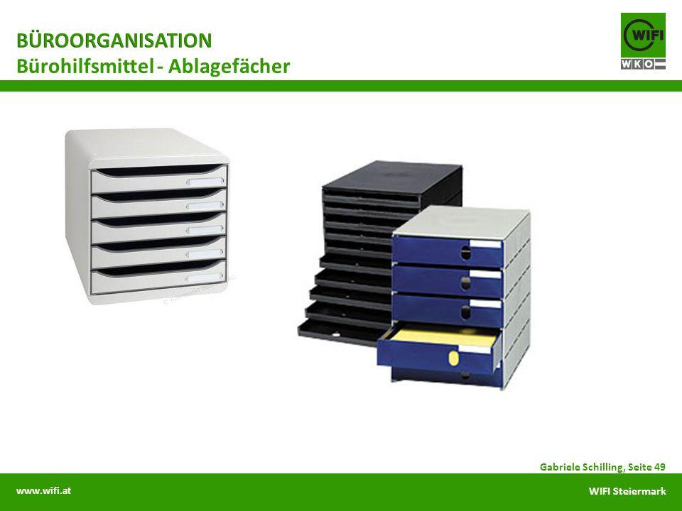 Bürohilfsmittel - Ablagefächer