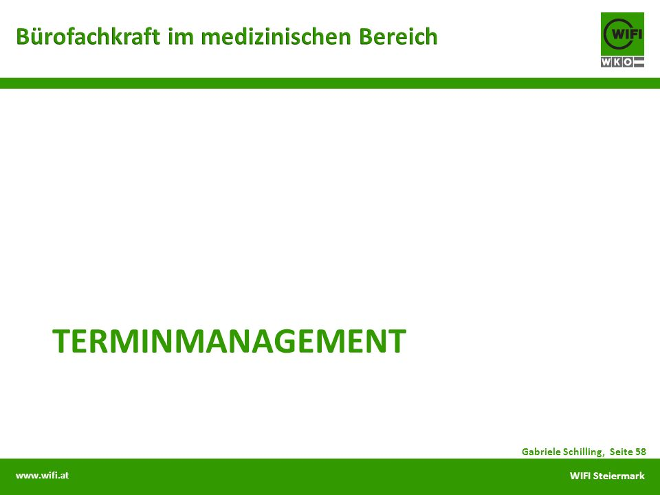 terminmanagement