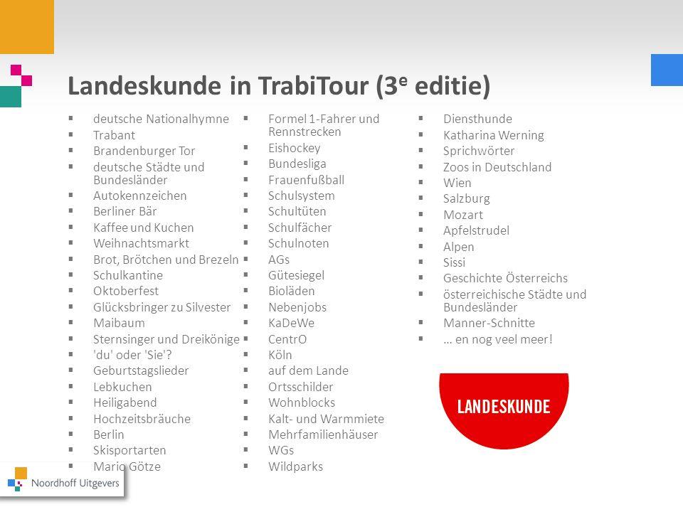 Landeskunde in TrabiTour (3e editie)