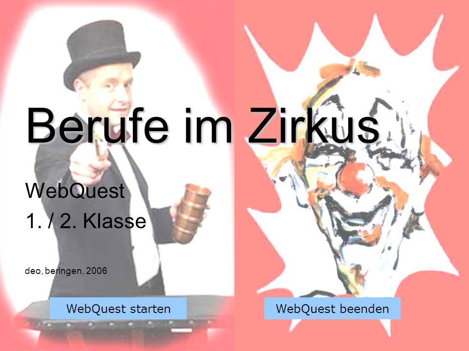WebQuest 1. / 2. Klasse deo, beringen, 2006