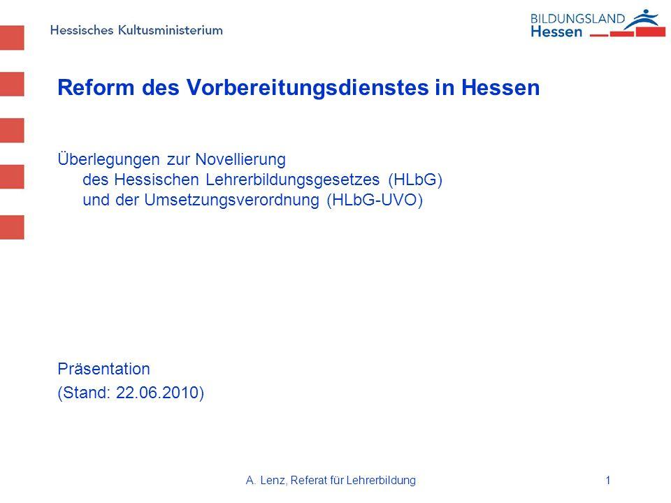 Reform des Vorbereitungsdienstes in Hessen