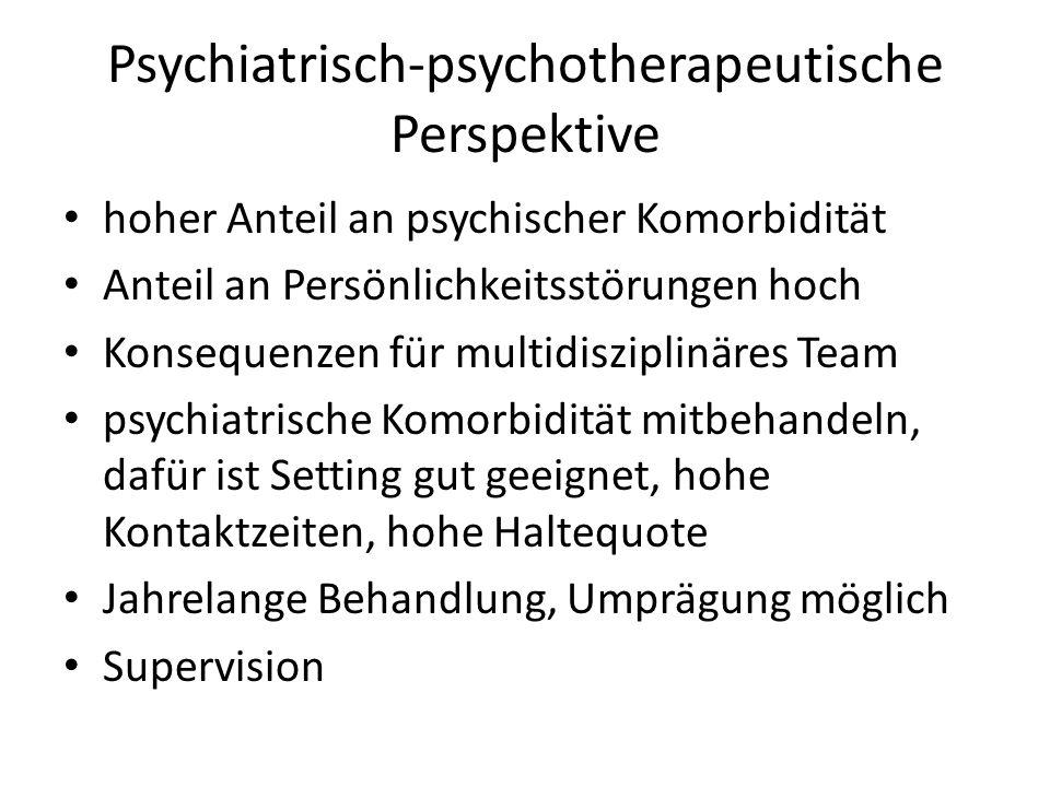 Psychiatrisch-psychotherapeutische Perspektive