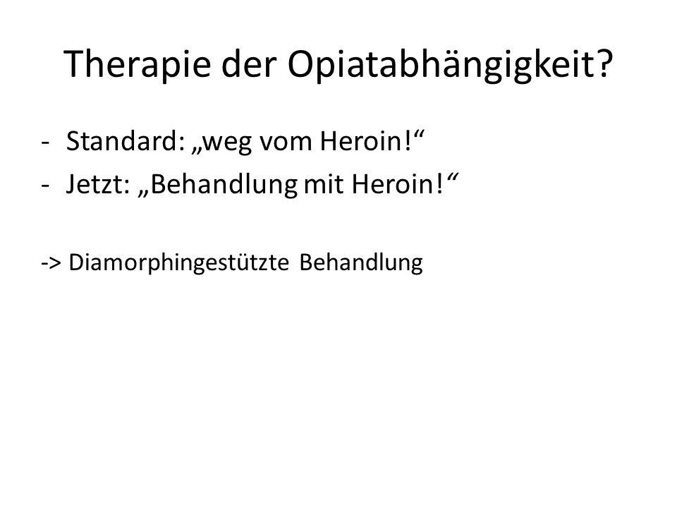 Therapie der Opiatabhängigkeit