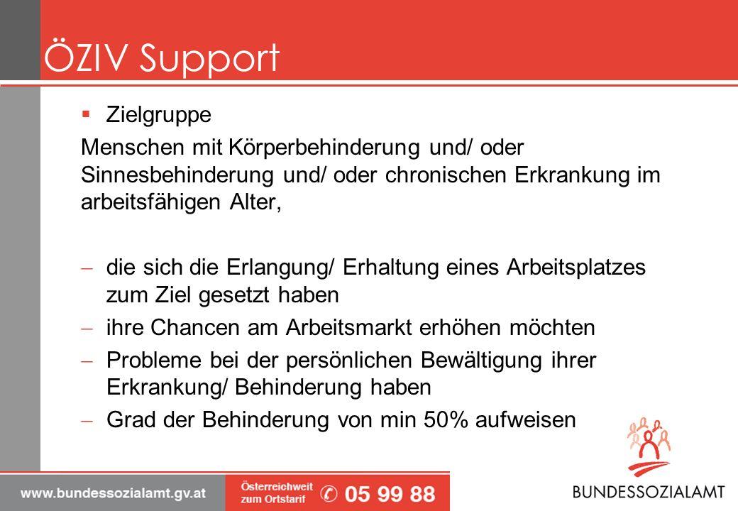 ÖZIV Support Zielgruppe