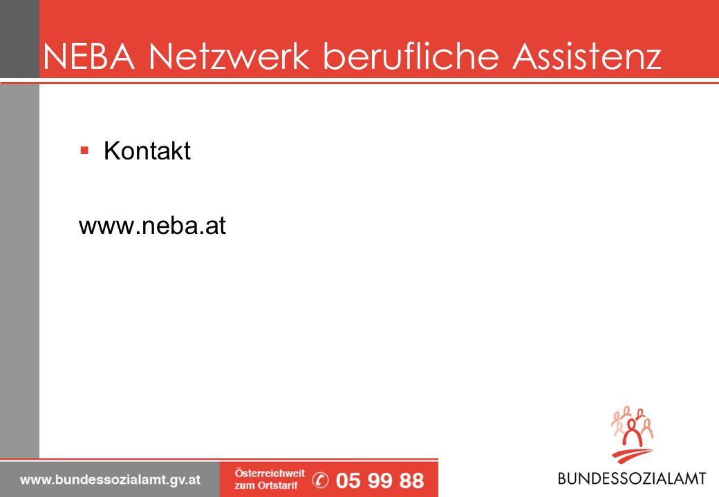 NEBA Netzwerk berufliche Assistenz