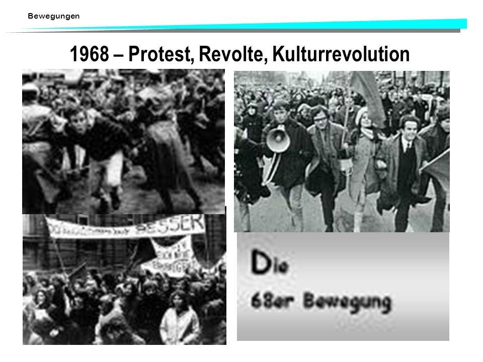 1968 – Protest, Revolte, Kulturrevolution