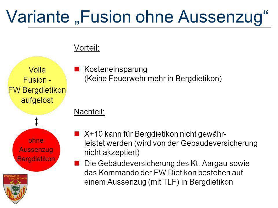 """Variante """"Fusion ohne Aussenzug"""