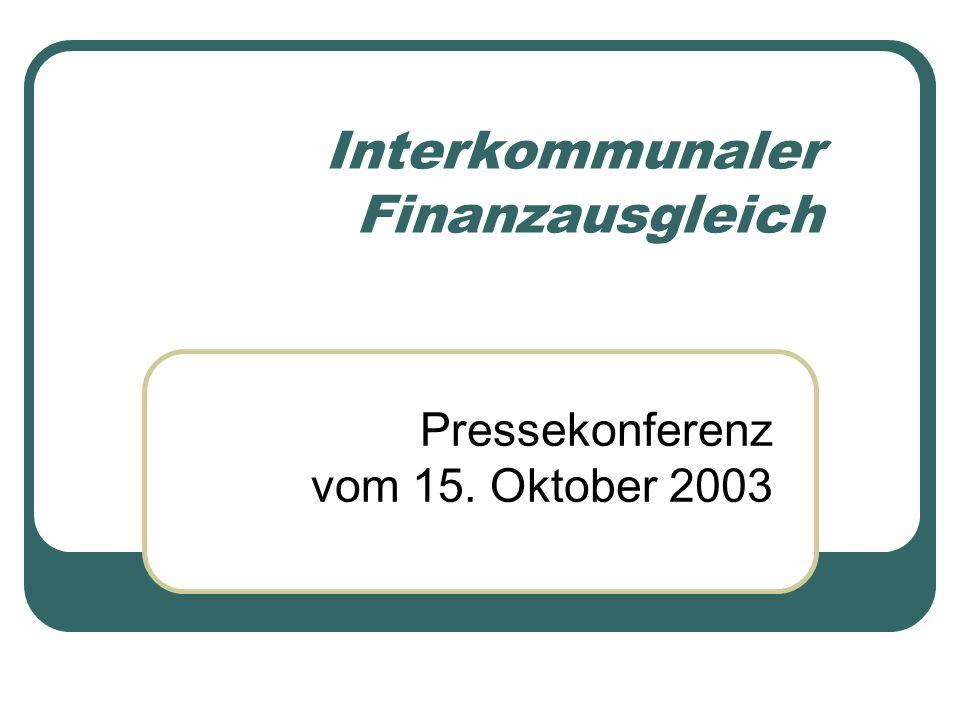 Interkommunaler Finanzausgleich