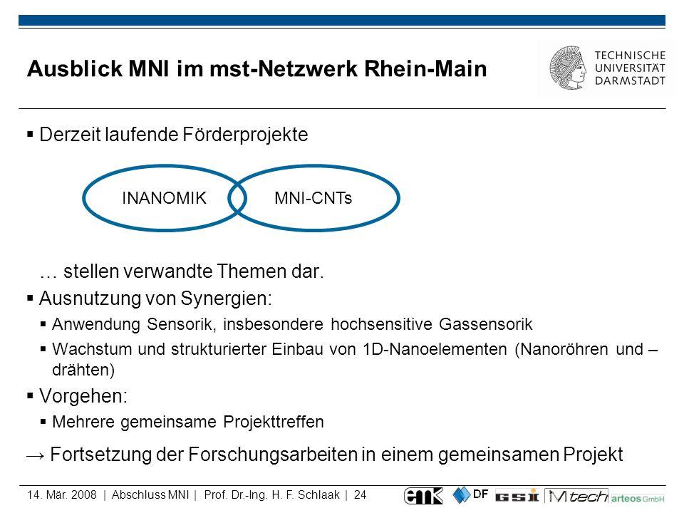 Ausblick MNI im mst-Netzwerk Rhein-Main