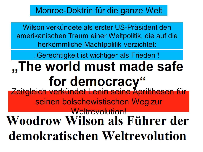 Monroe-Doktrin für die ganze Welt