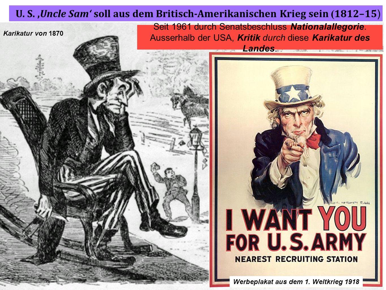 Werbeplakat aus dem 1. Weltkrieg 1918