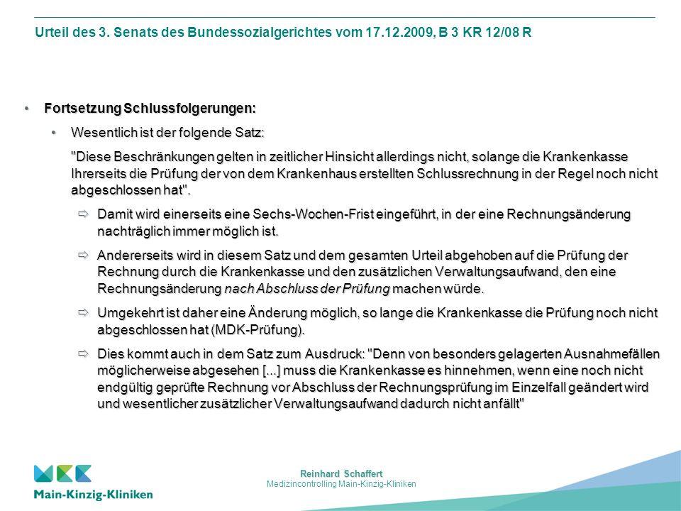 Medizincontrolling Main-Kinzig-Kliniken