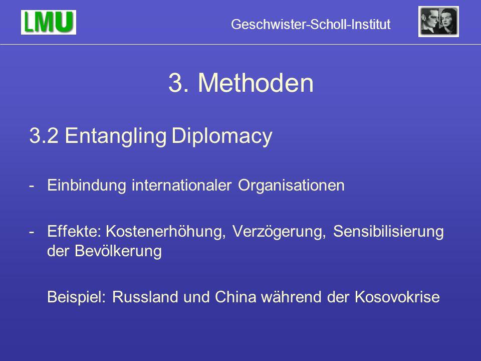 3. Methoden 3.2 Entangling Diplomacy